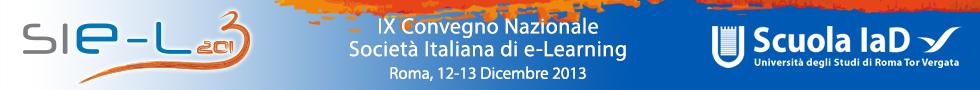 SIEL2013 - Roma, 12-13 Dicembre 2013
