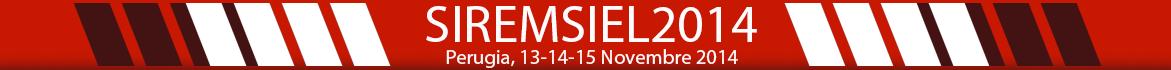 .: Convegno Nazionale SIREM - SIe-L 2014 :.